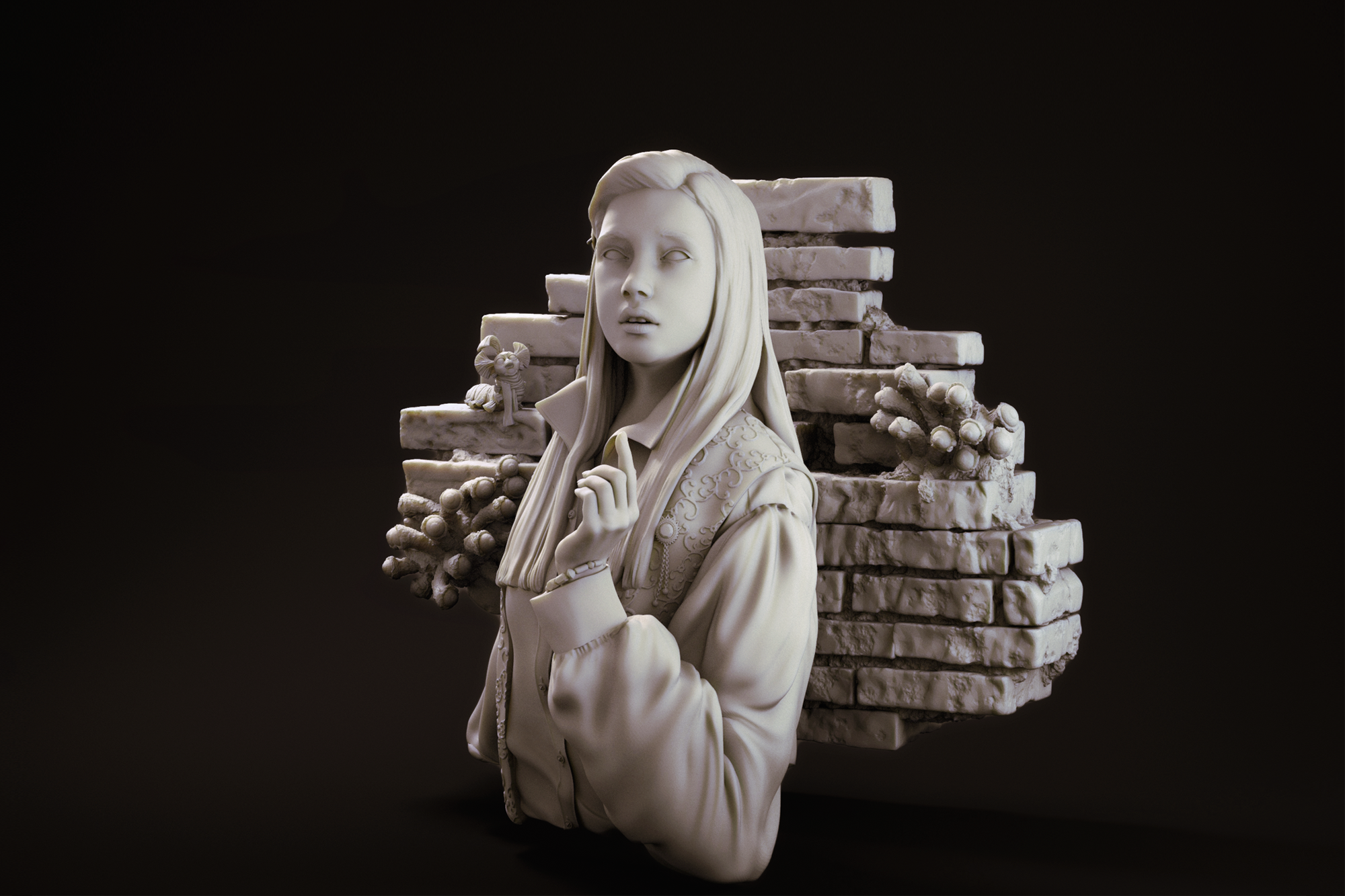 Sarah form LABYRINTH miniature