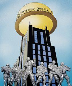 Barruz Studio - Estudio de escultura digital