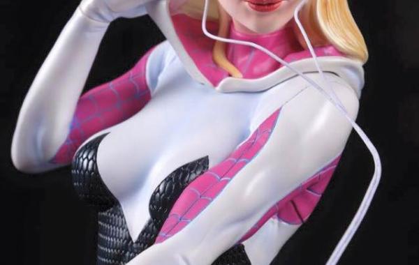 Figura 3D Spider Gwen
