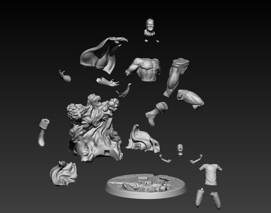 Fgura 3D Shazam