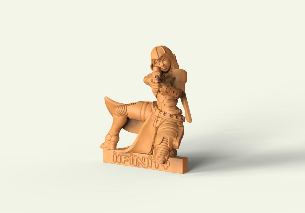 Escultura digital 3D para wargame