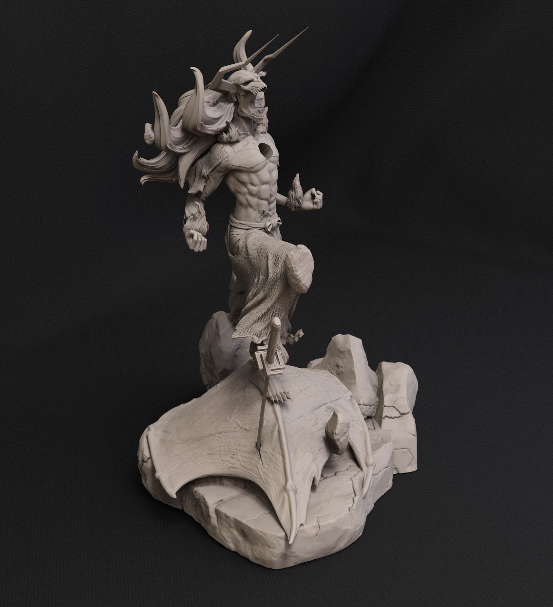 figura 3D Ichigo Kurosaki