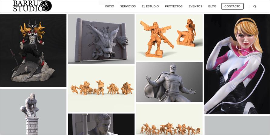 Bienvenidos a nuestro blog de Escultura Digital