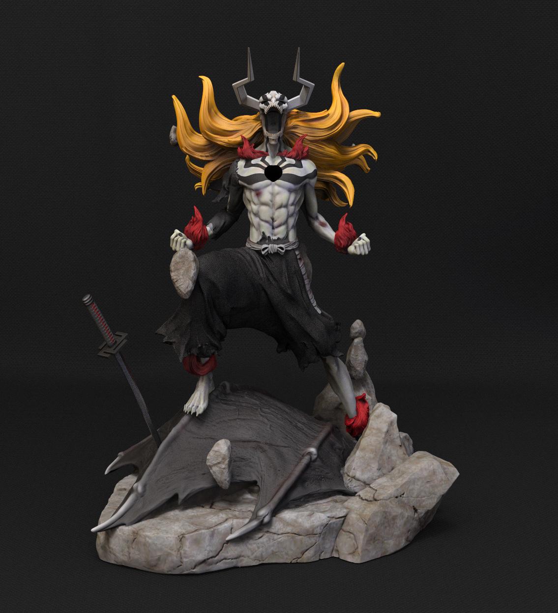 portada figura 3D Ichigo Kurosaki