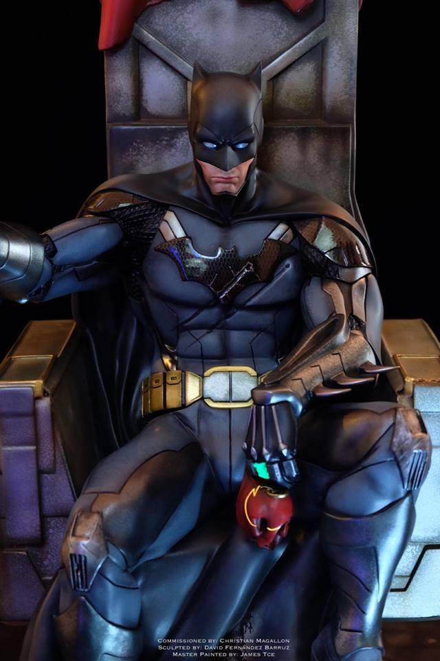 Batman  Contingency Plan  3d Figure