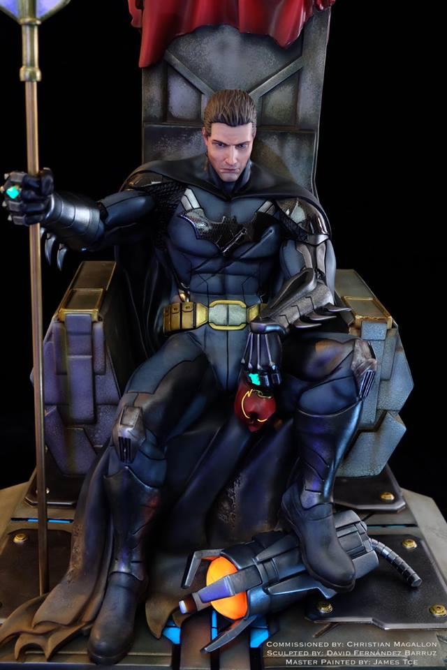 Batman Contingency Plan 3d Figure Barruz Studio