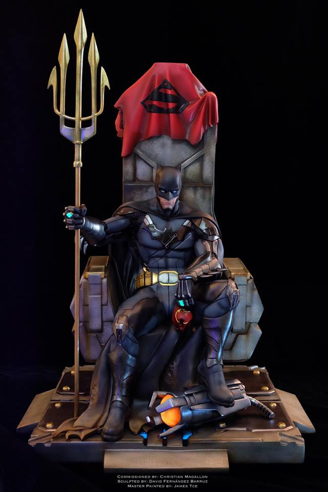 Batman Contingency Plan 3d Figure Barruz Studio
