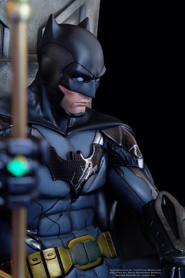 batman contingency plan 3d figure master tce painted james