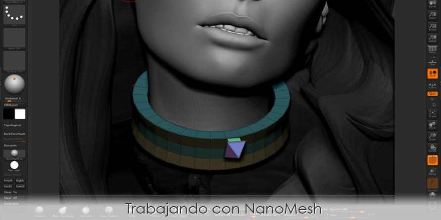 Trabajando con NanoMesh