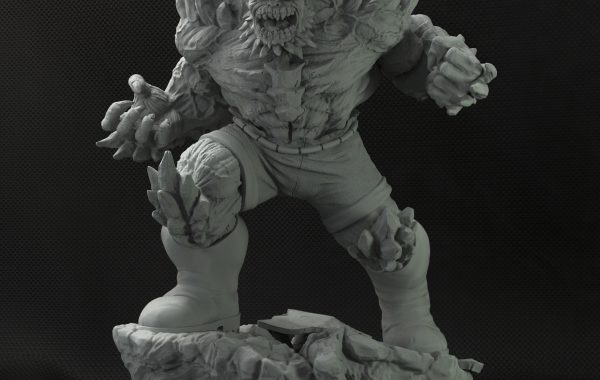 Doomsday 3D figure