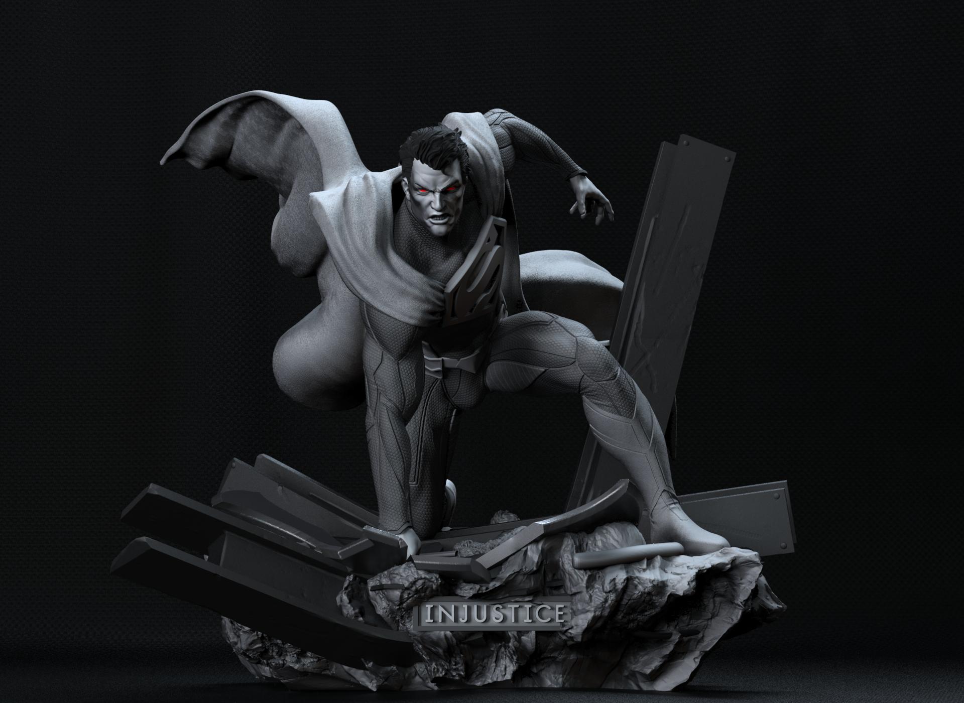 Superman figura 3D