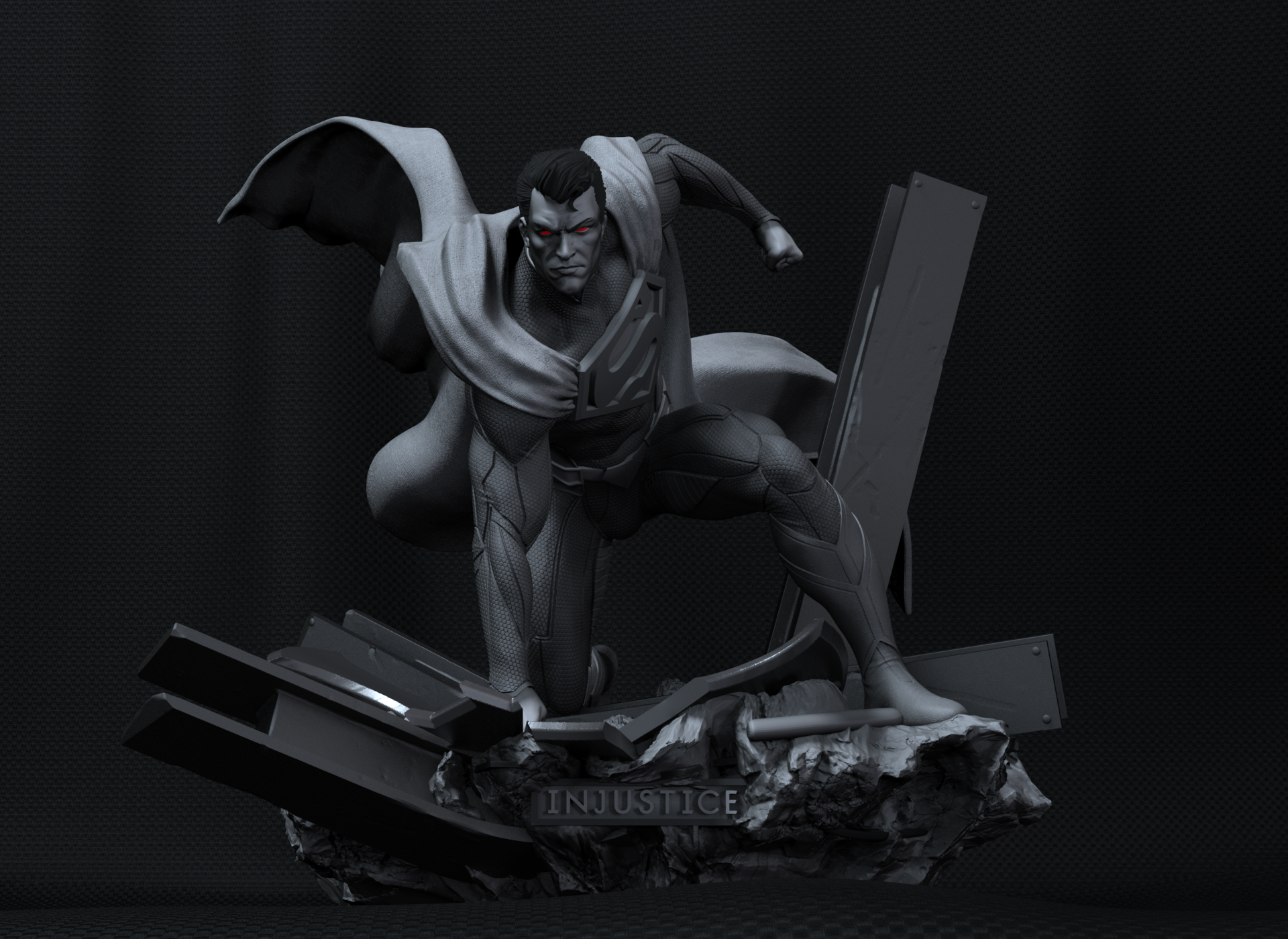 Superman figura 3D