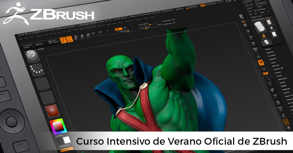 CURSO INTENSIVO DE VERANO OFICIAL DE ZBRUSH