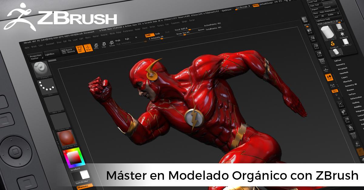 Máster de Modelado Orgánico con ZBrush