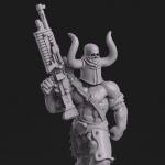 modelado para producción de figuras y miniaturas con Zbrush