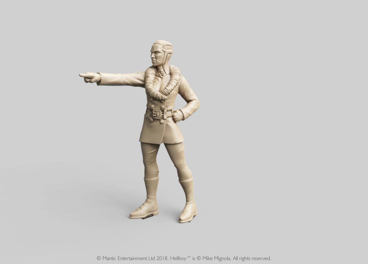 Miniatura de Hellboy personaje Ilsa