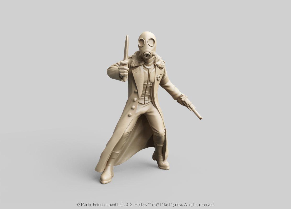 Miniatura de Hellboy personaje Kroenen