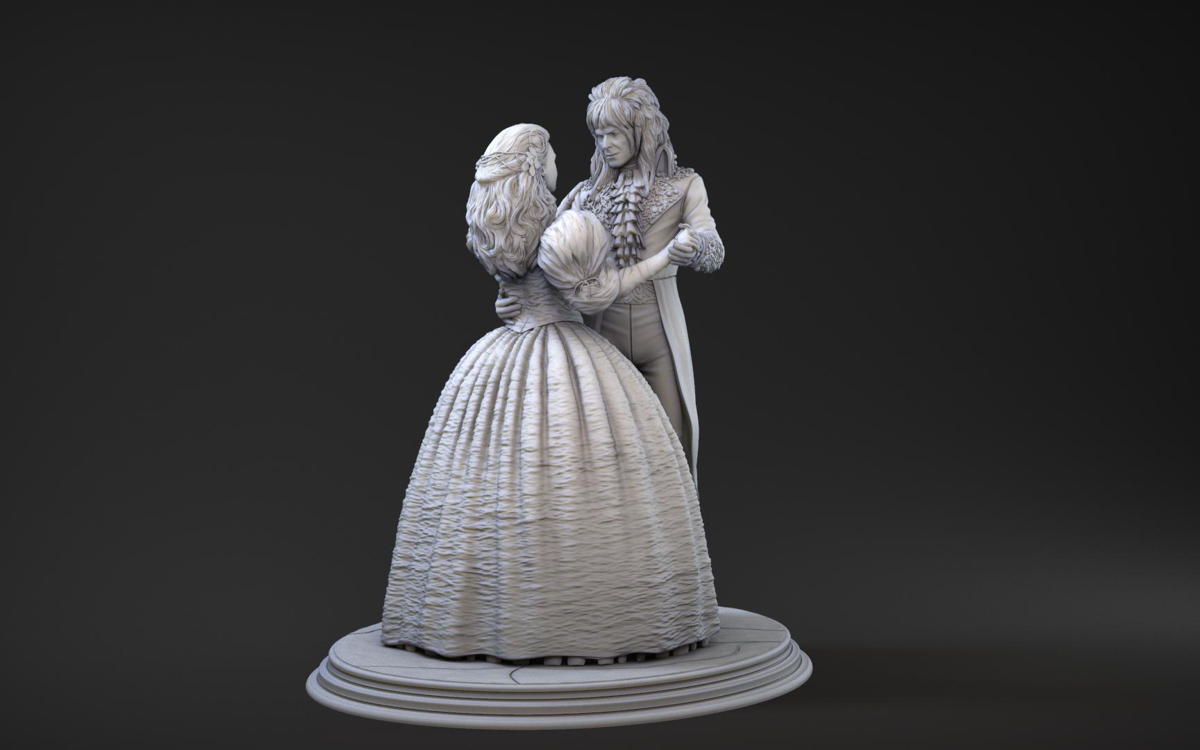 Miniatura Sarah & Jareth Dentro del laberinto