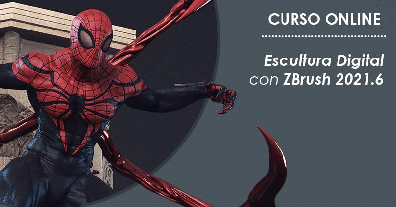 Curso de Escultura Digital con ZBrush 2021